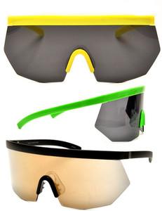 Lynx Mirrored Blade Sunglasses