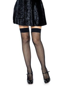 Joy Fishnet Thigh High Stockings