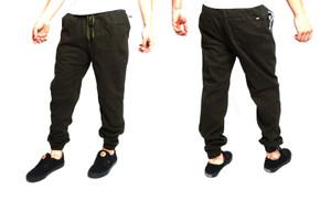 Jogger Green Skinny Pants