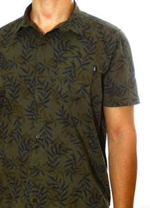 Olive Green Jungle Button Shirt