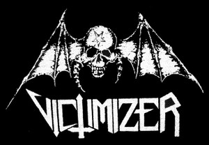"Victimizer Bat Skull 5x4"" Printed Patch"