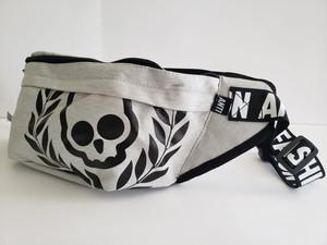 Grey Skull Waist Bag
