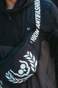 Black Skull Waist Bag