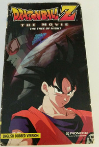 Dragon Ball Z: The Tree Of Might  [VHS] *USED*