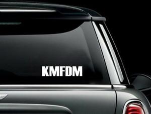 "KMFDM - Logo 7x2"" Vinyl Cut Sticker"