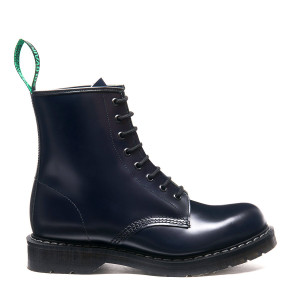 Solovair 8i Navy Derby Boots *Made in England*