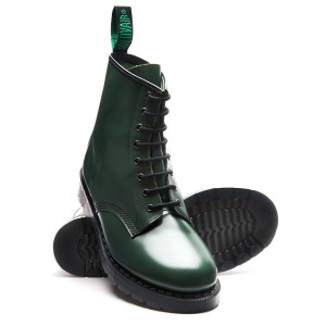 Solovair 8i Green Derby Boots *Made in England*