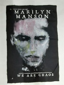 Marilyn Manson - We Are Chaos Test Backpatch