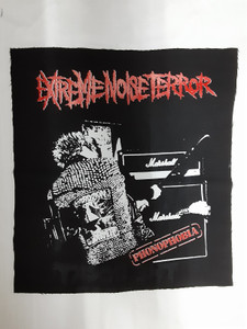 Extreme Noise Terror Phonophobia Test Backpatch