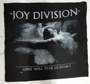 Joy Division Love Will Tear Us Apart Test Backpatch