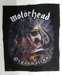 Motorhead - Orgasmatron Test Backpatch