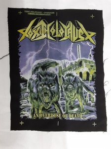 Toxic Holocaust -An Overdose Of Death Test Backpatch