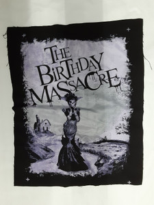 The Birthday Massacre Pins and Needles Test Backpatch