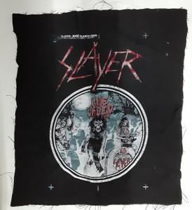Slayer - Live Undead Test Backpatch