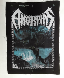 Amorphis - Tales From The Thousand Lakes Test Backpatch