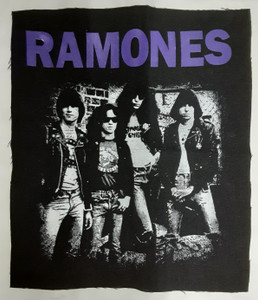 Ramones Band Pic Test Backpatch