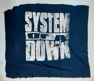 System of a Down Logo Test Backpatch