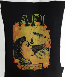 A.F.I. - Shut Your Mouth Test Backpatch