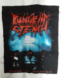 Pungent Stench For God Your Soul, For Me Your Flesh Test Backpatch