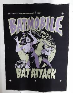 Batmobile Bat Attack Test Backpatch