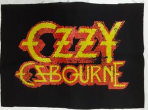 Ozzy Osbourne Logo Test Backpatch