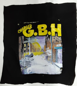Charged G.B.H. City Baby Attacked by Rats Test Backpatch