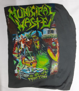 Municipal Waste - The Art of Partying Test Backpatch