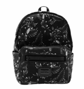 Aloha From Hell with Floral Print Backpack