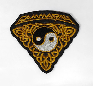 Gamma Ray - Ying-Yang 4x4 Embroidered Patch