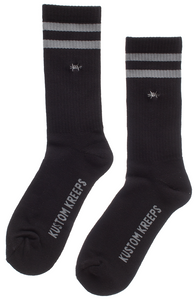 Embroidered Barbed Wire Socks