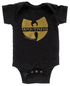 Wu-Tang Clan Baby Onesie
