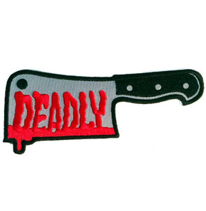 Embroidered Deadly Cleaver Patch