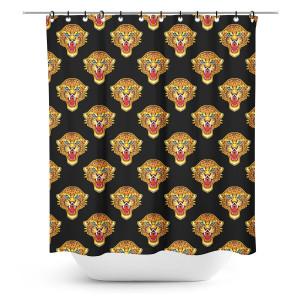 Printed Jaguar Shower Curtain