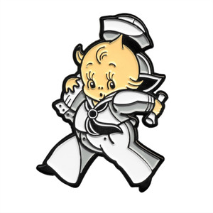Enamel Sailor Baby Pin
