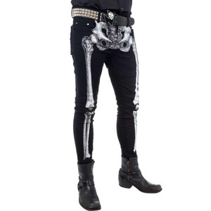 White Bones Skelleton Skinny Jeans