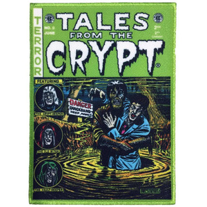 Tales From The Crypt Green Color Patch