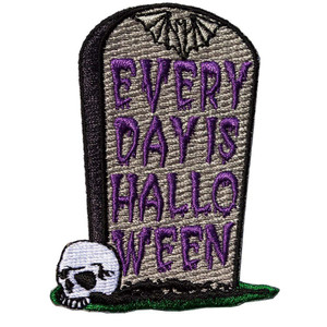 Ever Day Is Halloween Embroidered Patch