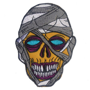 Graves Monster Mummy Embroidered Patch