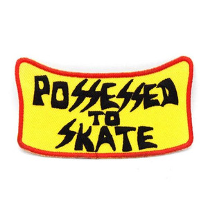 Dogtown Possessed To Skate Embroidered Patch