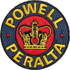 Powell Supreme Embroidered Patch