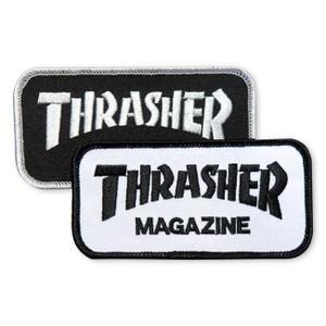 Thrasher Magazine Logo Embroidered Patch