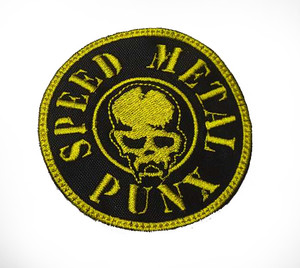 Speed Metal Punx Embroidered Patch