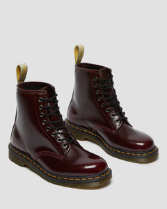 Dr. Martens Pascal Cherry Red Boots