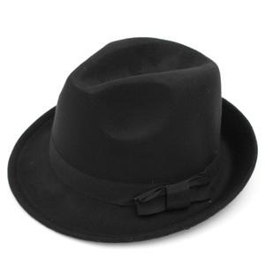 Medium Black Fedora Hat