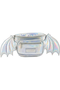 Silver Holographic Sickly Sweet Waist Bag