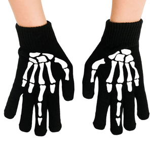 Soft Touch Skelly Hand Winter Gloves