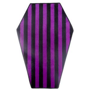 Copy of Black & Purple Coffin Rug