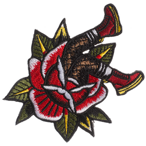 Skinhead Boots Embroidered Patch