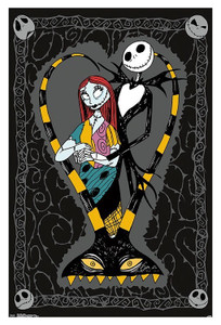 Nightmare Before Christmas - Happy Couple Poster