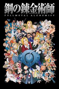 Full Metal Alchemist Characters Poster
